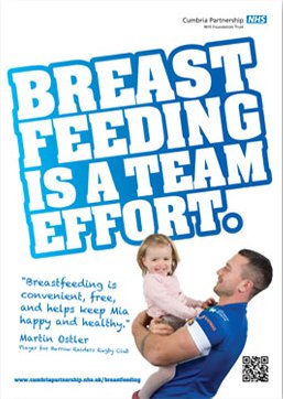 Breastfeeding is a team effort