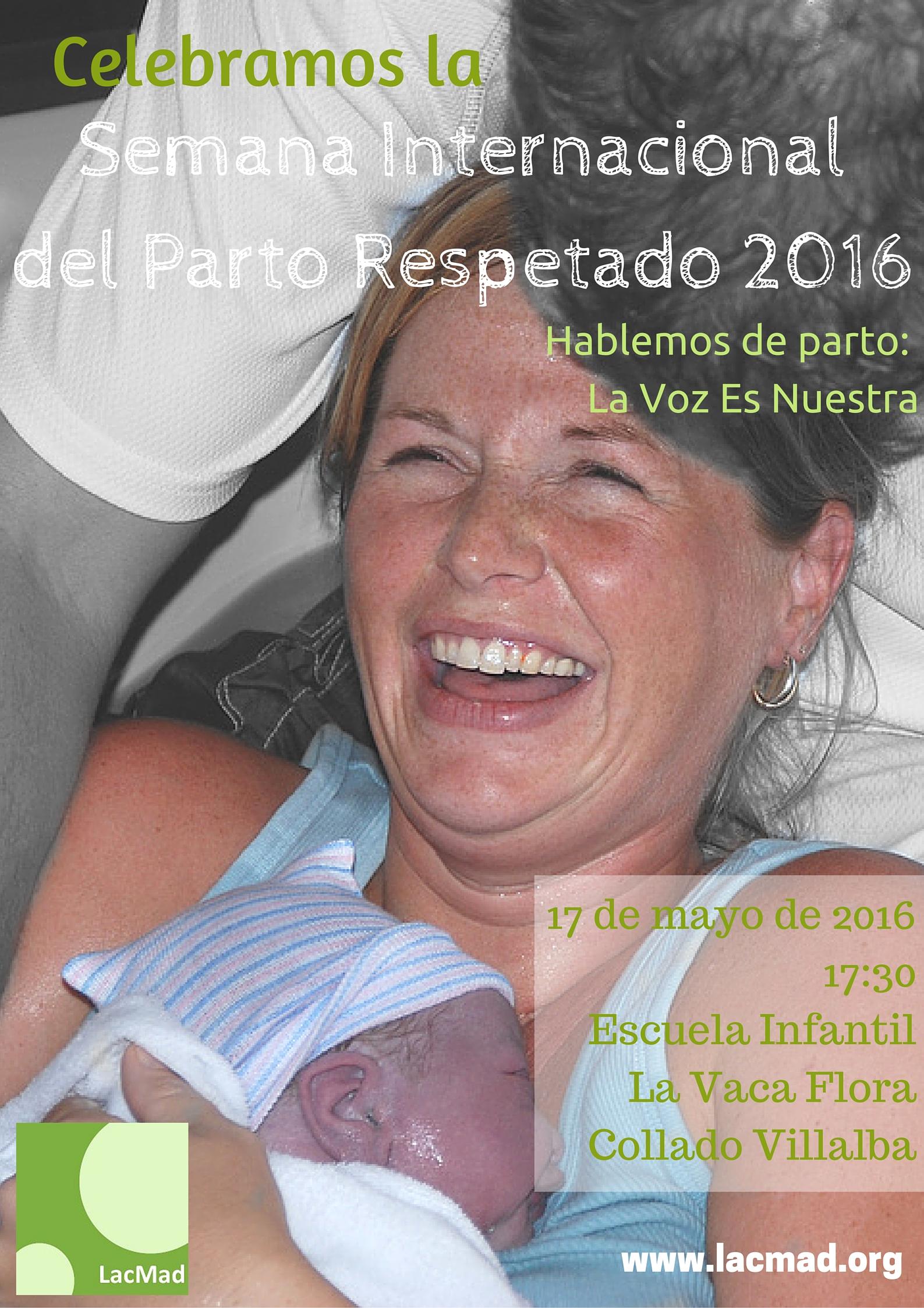 Semana Internacional Parto Respetado 2016